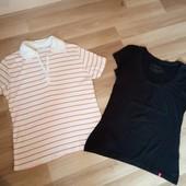 Дві фірменні футболки в одному лоті, хороший стан