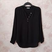 Чёрная блуза , приятная вискоза ! УП скидка 10%