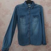 Стильная джинсовая рубашка ! УП скидка 10%