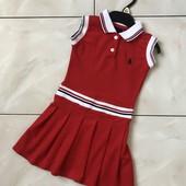 Стоп !❤яркое спортивное фирменное платье-поло,3-4 года❤ Много лотов!