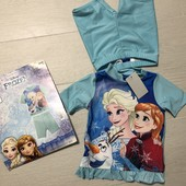Распродажа!!! Новый купальный костюм Disney Эльза р.86/92 см