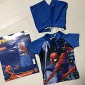 Распродажа!!! Новый купальный костюм Человек Паук р.74/80, 86/92 см UV 50+