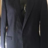 Мужской классический костюм*Тройка* синего цвета