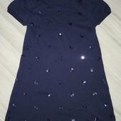 H&M платье на девочку 6'8лет идеальный вариант для школы