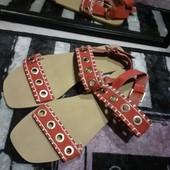 Модные стильные удобные сандали босоножки