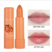 Бальзам для губ персик с изменением цвета!