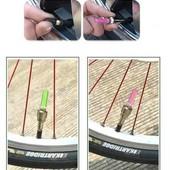 2 штуки в лоте Подсветка на колеса велосипеда светодиодные колпачки на ниппель