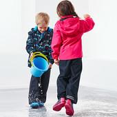 ☘ Дощові штани на флісі від Tchibo (Німеччина). Не продуваються, не промокають, розмір: 146-152