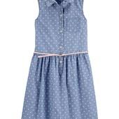 Легенькое платье на девчульку, р.5Т, Картерс