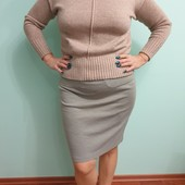 Трикотажная юбка размер 48-54, смотрите замеры