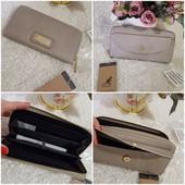 ❤️Kangol Оригинал!стильный брендовый кошелек благородный серый.Качество отличное!!Отличный подарок!!