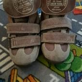 Лот 2 пары ботинки ортопеды+ ботиночки кожа