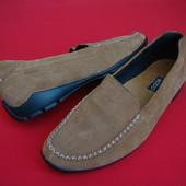 Мокасины туфли Ecco оригинал 39-40 размер( нюанс)