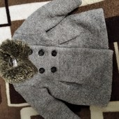 Пальто для дівчинки 9-12 м