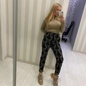 Стильные женские качественные брюки, размер L.
