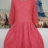 Шикарное кружевнок платье , George, размер 2XL