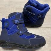 Отличные термо ботиночки Techtex 35 размер стелька 23 см