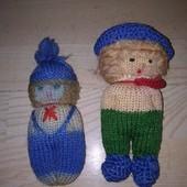 Куклы ручной работы handmade, в лоте 2 штуки