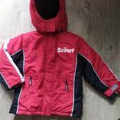 Лыжная куртка р.116 есть нюанс