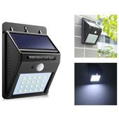 Настенный светильник на солнечной батарее с датчиком движения Solar powered led wall light