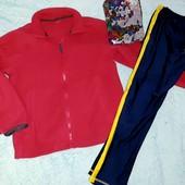 Спортивная кофта и лосины,на девочку 8-10 лет