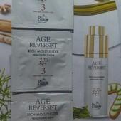 3 сашета! Увлажняющий антивозрастной крем для лица Age Reversist Dr.Tuna от Farmasi