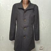Супер классное стильное серое пальто Новое Акция читайте