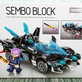 Конструктор sembo block 607036 Машина 168 деталей (607036)