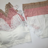 Женский комплекты белья В лоте один комплект, цвет на выбор