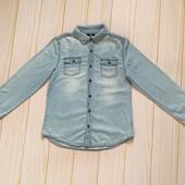 Джинсовая рубашка для девочки Page one