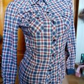 повседневная рубашка в клетку оригинал Zara