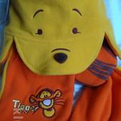 Новый комплект Disney шапочка и шарфик Оригинал!