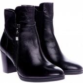 Женские ботинки полусапожки Braska натуральная кожа деми низкая цена!BS2215