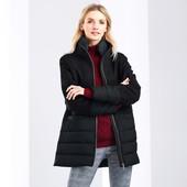 ☘ Шикарне тепле стьобане пальто з шерстю від Tchibo (Німеччина), розміри наші: 46-48 (40 євро)