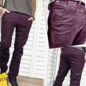 Мужские вельвет брюки фото реальное