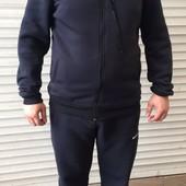 спортивный костюм мужской на флисе БатаЛ р. 56, замеры в описании