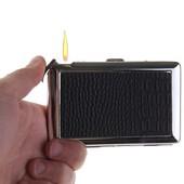 Стильный портсигар с зажигалкой
