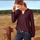 Блузка из Lenzing Viscose от Тсм Tchibo Германия размер 40 евро=46-48