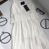 Красивый белый летний сарафан, платье Top Secret