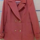 Кашемировое пальто M&S 48р. (uk14)