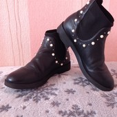 Красивые деми ботиночки Zara. Р.34 Стелька 21-21,5