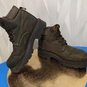 Кожа! Деми/еврозима ботинки FILA на мальчика, р.31-32, стелька 20,5 см