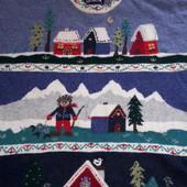 Теплый свитер размер 50-54 смотрите замеры