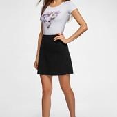 Базовая стильная теплая юбка в крое трапеция