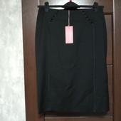 Фирменная новая красивая юбка-карандаш р.10-12