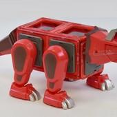 Магнитный конструктор Динозавр большой подарок Magformers эффекты, готовимся к НГ, много лотов