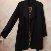Стильный чёрный кардиган-пиджак !