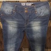 Стрейчевые джинсы разм.17-18(52-54)