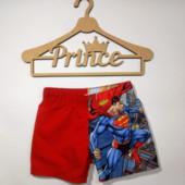 Пляжные шорты мальчику Superman! Германия! 98-104р.
