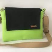 Яркая стильная женская сумка